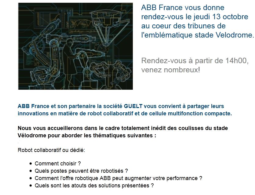 Invitation Rencontres ABB Marseille 13 Oct 2016